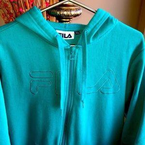 Y2K Fila hoodie